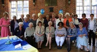 Some of our members at our 60th Birthday celebration